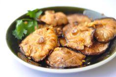 Grilled Sesame Ginger Marinated Shiitake Mushrooms