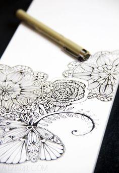 alisaburke- a peek inside my sketchbook