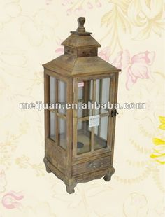 Antique Wooden Lanterns | 2012 Antique Wooden Lantern With One Drawer - Buy Wooden Lantern ..