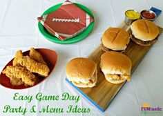 Easy Game Day Party