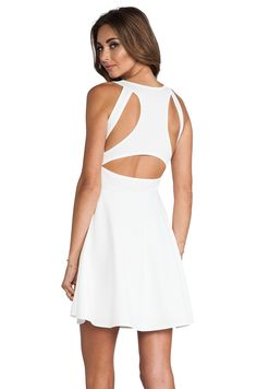 Motel Kale Dress in White from REVOLVEclothing