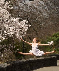 Claire Stallman at Fort Tryon Park in New York City