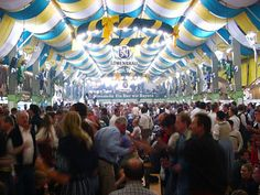 Crowded tent
