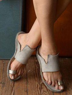 a3b52c854 Women Shoes Rome Open-toe Beach Flat Sandals