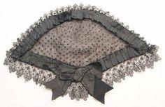 Pretty Civil War Era Lady's Lace Head Dress | eBay
