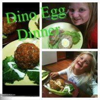 Dino Eggs Kids Dinner