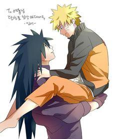 Madara x Naruto