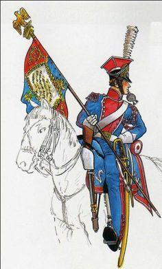 Lanciere del 1 rgt. lancieri polacchi della guardia imperiale francese