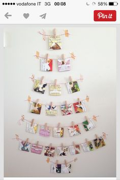 Little Golden Nook: Chistmas Trees For Small Spaces.Nice Idea For Cards