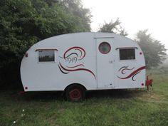 14' RARE Vintage 1949 Trotwood Camper | eBay
