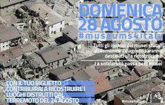 #Terremoto: i #musei #devolvono l'#incasso di #oggi alla #ricostruzione…