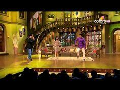 Sunidhi Chauhan dances with a fan | Kapil Sharma Video Website