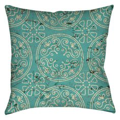 Valencia Medallion Printed Throw Pillow
