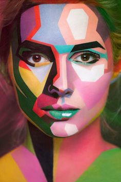 Alexander Khokhlov, body painting e ilusiones ópticas que impresionan