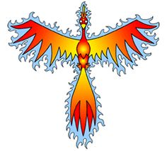 Phoenix drawing cartoon image