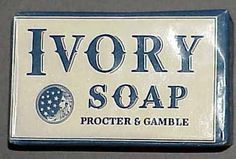Procter and Gamble - Cincinnati, Ohio (since 1837). Ivory soap is just one of the dozens and dozens of products that P&G manufactures, world wide. One of Ohio's largest corporations.