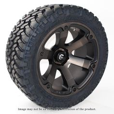Fuel Offroad Beast Black Machined Dark Tint Wheels with Nitto Trail Grappler MT Tires Jeep Wheels And Tires, Truck Rims And Tires, Off Road Wheels, Truck Wheels, Dually Rims, Dodge Dually, Offroad, Nissan Titan Xd, Chevrolet Trucks