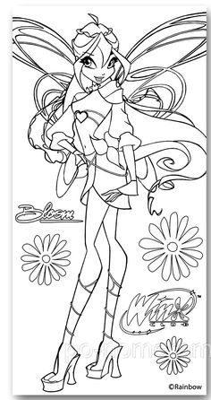 Daybreaker Coloring Page Line Art