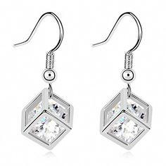 TAOTAOHAS Damen Ohrhänger mit Crystallized Swarovski Elements Kristall Clear 18K 750 Weißgold, Quadratmeter Diamant der Liebe TAOTAOHAS-Crystal http://www.amazon.de/dp/B00HVVVY06/ref=cm_sw_r_pi_dp_5Q3Xub0DEQ887