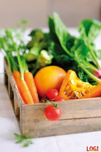 LOGI  Gemüsekiste klein#logimethode #logidiät #diät #logi