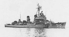 Not a battleship but this ship USS Eaton Destroyer is what the Wisconsin hit in heavy fog. Tin Can Sailors, Us Battleships, Capital Ship, Man Of War, Navy Ships, United States Navy, Sailing Ships, Military Vehicles, Wisconsin