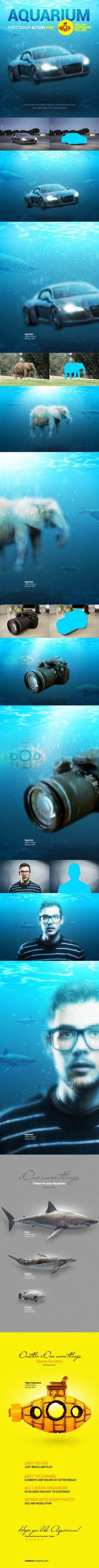 Aquarium PS Action - Photo Effects Actions
