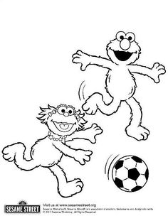 zoe sesame street coloring pages - photo#14