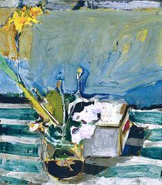 bofransson:    Richard Diebenkorn (1922-1993) Untitled (Still Life with Iris)