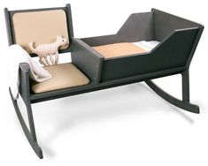Cradle rocking chair