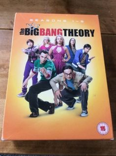 The big bang #theory #seasons 1-5 dvd box set 16 #discs - vgc. fast free uk post,  View more on the LINK: http://www.zeppy.io/product/gb/2/291832815070/
