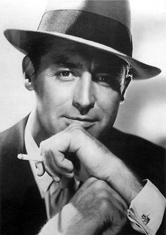 Cary Grant -Debonaire wasn't a word until this man. My favorite classic actor!