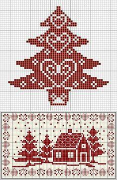Cat Cross Stitches, Counted Cross Stitch Patterns, Cross Stitch Charts, Cross Stitch Designs, Cross Stitching, Cross Stitch Embroidery, Cross Stitch House, Xmas Cross Stitch, Cross Stitch Letters