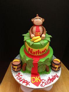 Donkey Kong cake made by Teresa Lynn cakes LLC