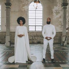 Solange Knowles marries Alan Ferguson | Wedding Pictures | Harper's Bazaar