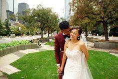 Crab apple trees on University Avenue. Toronto Street, University Of Toronto, Toronto Wedding, Apple Tree, Wedding Photos, Trees, Wedding Photography, Wedding Dresses, People