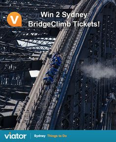 Enter our ‪#‎Sydney‬ ‪#‎giveaway‬ for a chance to win BridgeClimb Sydney tickets!