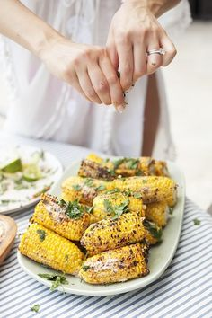 Sriracha Street Corn | 10 Best Corn Recipes | Camille Styles