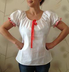 Klasika   Dámská košile   FOLKLOR MODERNÍ SLOVÁCKO