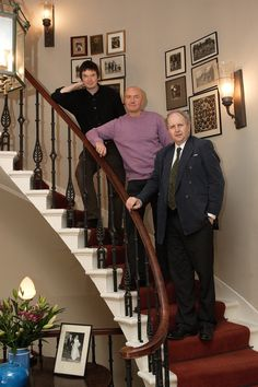 Ian Rankin, Irvine Welsh & Alexander McCall Smith - three great Edinburgh writers