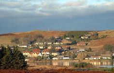 Village of Lairg in the Highlands. Vampires, Debt, Paris Skyline, Dolores Park, Travel, Voyage, Viajes, Vampire Bat, Traveling
