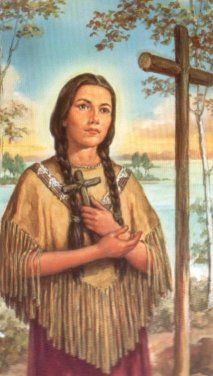 Saint Kateri Tekakwitha is the first Native American saint from the United States of America! <3