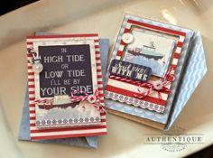 Card Set by Authentique Paper Design Team Member Audrey Pettit