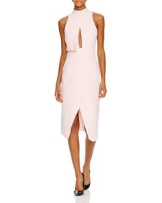 C/Meo Collective High Neck Keyhole Dress