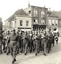 Liberators from Poland during WW II In Holland