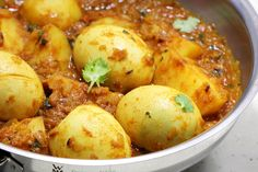 aloo egg curry or potato egg curry for beginners. A simple , tasty and delicious curry to serve with rice, jeera rice, bread, roti, paratha