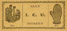 19世紀米国の上流階級が集まるダンスホールで、素敵な女性を見つけた男性が取る行動は3通りあった。1)誰か地位のある立派な人物に仲介を頼む、2)直接話しかけて彼女の付添人(お目付け役)の怒りを買う、3)あるいはイラストやジョークが印刷された小さなカードをこっそりと手渡して、家まで送り届ける許可をもらうか。/19世紀の終わり頃、若者はエスコートカードを手渡してデートの申し込みをしていた。このカードには「ご自宅までお送りしてもよろしいでしょうか」と書かれている。