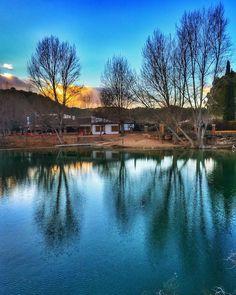 Reflejos en la Sanpedra  Laguna San Pedro Albacete  #mobilephotography #mobilephotography