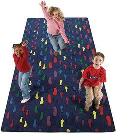 Flagship Carpets FTP1215 12 x 15ft Footprints Educational Rug by Flagship Carpets. $659.67. Construction