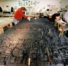 Blade Runner - city miniature set in development.    Vfx behind the scenes, history and cinemagic