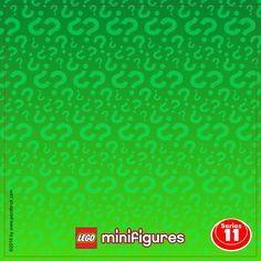 LEGO Minifigures 71004 Serie The LEGO Movie - Display Frame Plain Background…